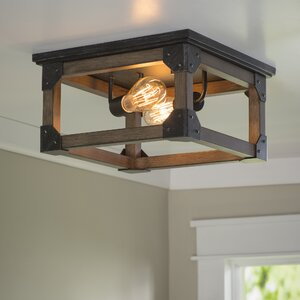 Cheyanne 2-Light Ceiling Flush Mount