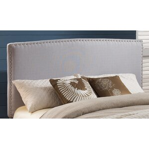 Harmonsburg Upholstered Panel Headboard by Charlton Home