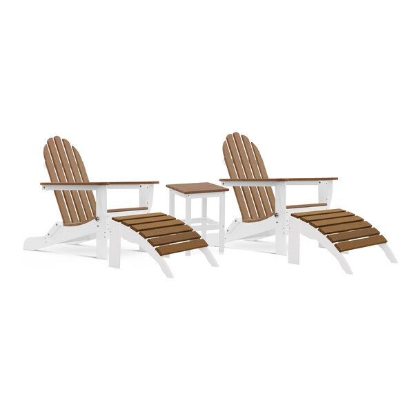 Cleasby 5 Piece Seating Group by Rosecliff Heights