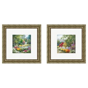 'Landscape' Framed Painting Print (Set of 2) by August Grove
