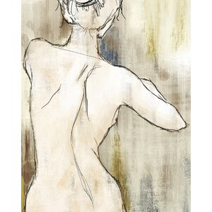 'Figurative I' Painting Print on Wrapped Canvas by Latitude Run