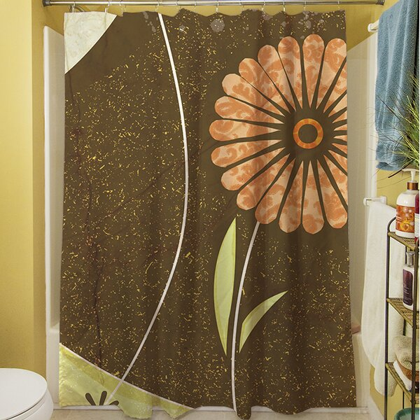 Graphic Garden Suri Shower Curtain by Manual Woodworkers & Weavers