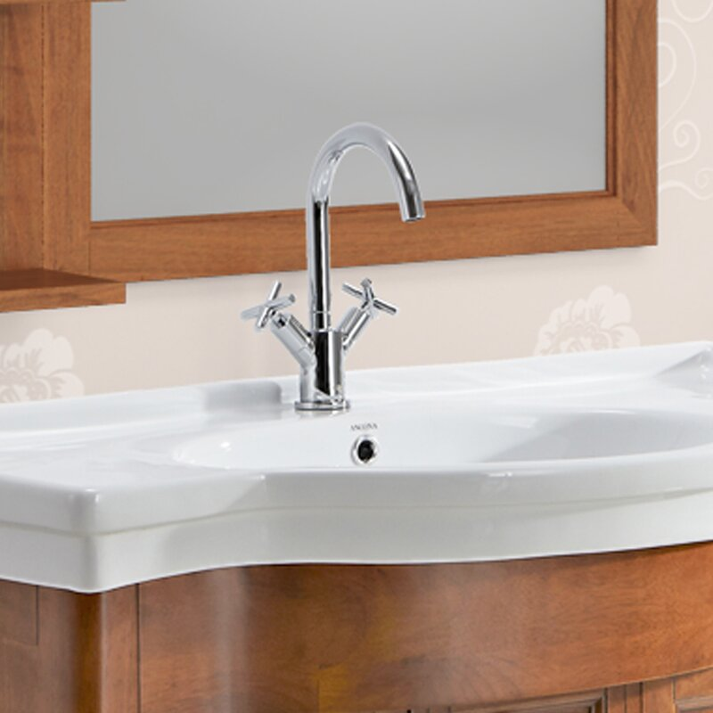 Bathroom Faucet Plate ancona prima standard bathroom faucet double handle with optional