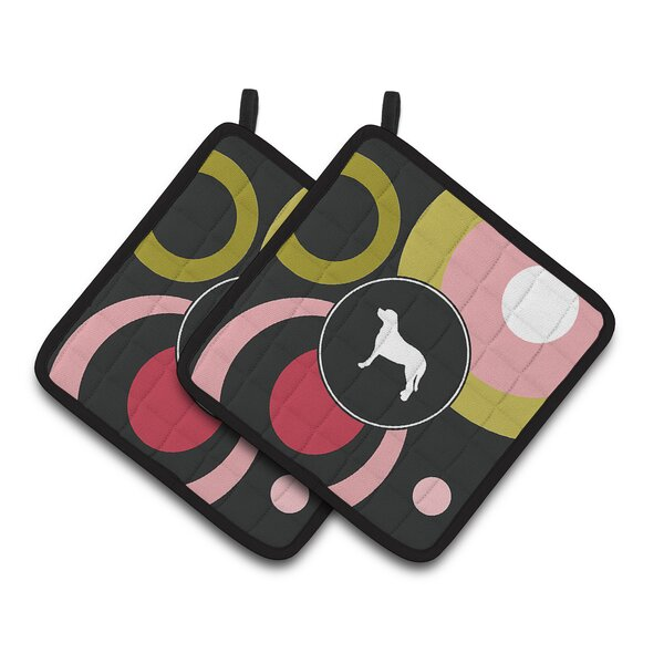 Greater Swiss Mountain Dog Potholder (Set of 2) by East Urban Home