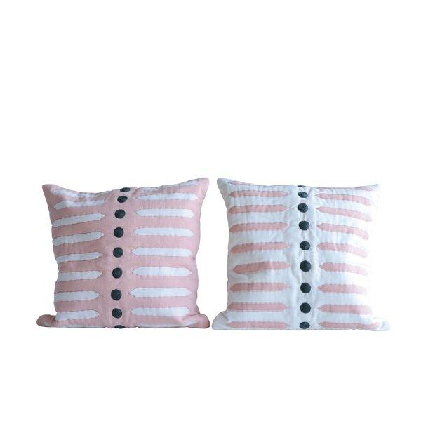 Piscitelli Decorative Cotton Throw Pillow (Set of 2) by Union Rustic