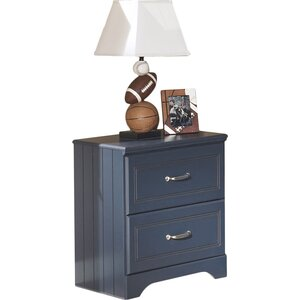 Cole 2 Drawer Nightstand