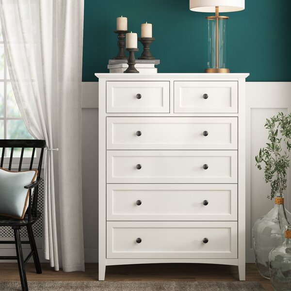 Zeppelin 5 Drawer Dresser by Mistana