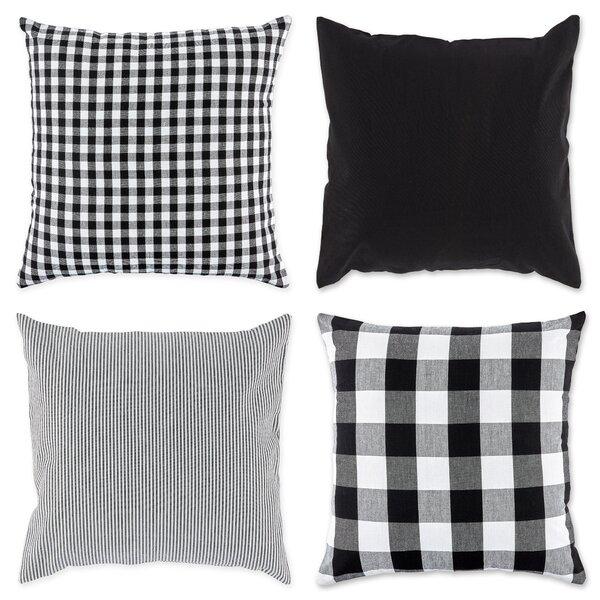 Set Of 4 Throw Pillows Wayfair