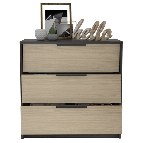 Lowndes 3 Drawer Dresser by Foundry Select