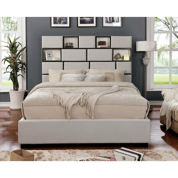Kidham Upholstered Platform Bed by Latitude Run