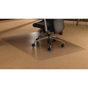 Cleartex High Pile Carpet Straight Edge Chair Mat