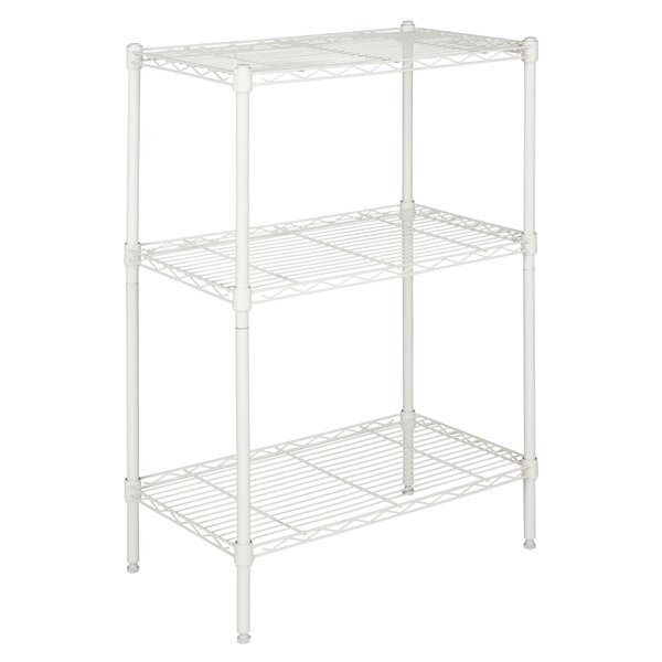 35.43 x 23.62 Suze 3-Shelf Wire Rack by happimess