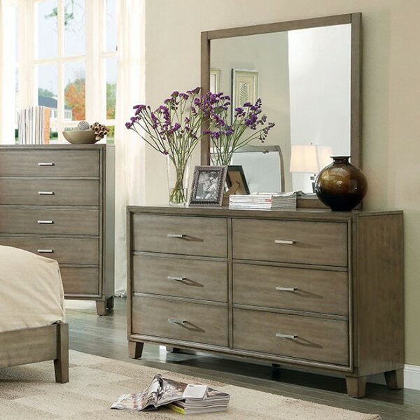 Tindley 6 Drawer Double Dresser by Brayden Studio