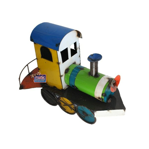 Small Rustic Train Statue by Rustic Arrow
