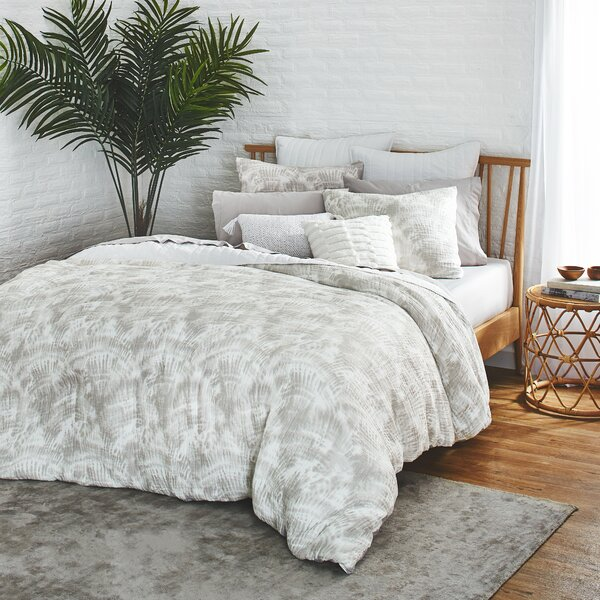 Watercolor Palms Comforter Set