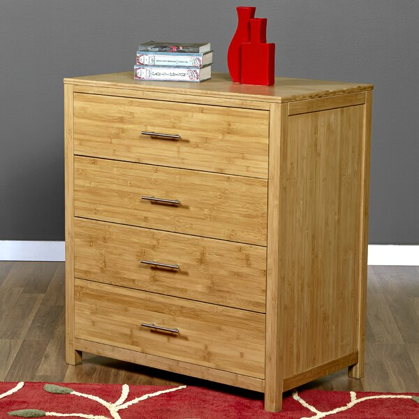 Acosta 4 Drawer Chest by Millwood Pines