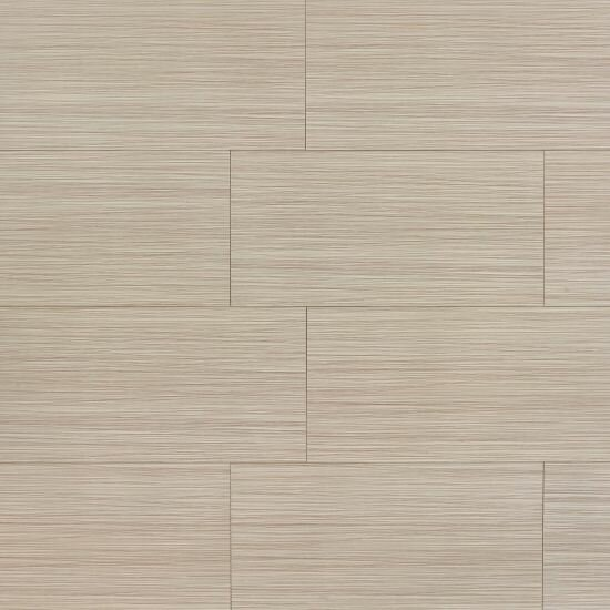 Refined 12 x 24 Porcelain Field Tile in Matte Brown by Grayson Martin