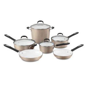 Elements 10-Piece Non-Stick Cookware Set
