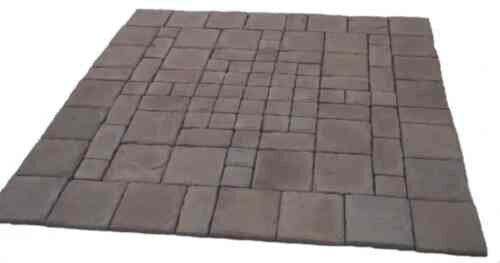 Natural Concrete Products Co Cass Stone Concrete Patio On A Pallet Kit U0026  Reviews | Wayfair