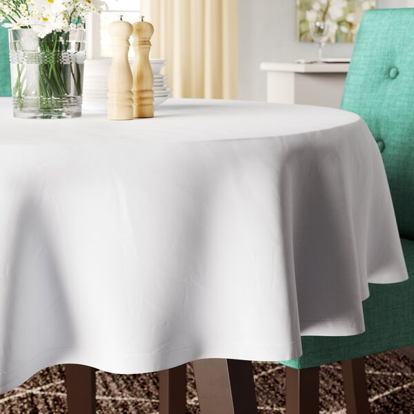 Massima Round Tablecloth by Mint Pantry