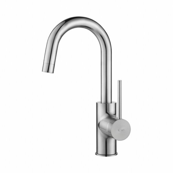Boomer Single Handle Kitchen Faucet by Langley Street