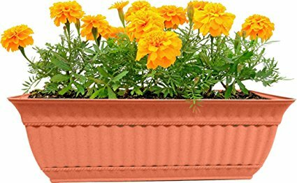 24 Milano Window Box Planter (Set of 2) by Misco Home and Garden