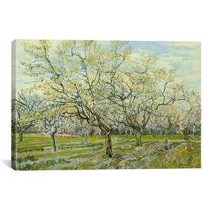 'The White Orchard' by Vincent van Gogh Graphic Art Print by East Urban Home