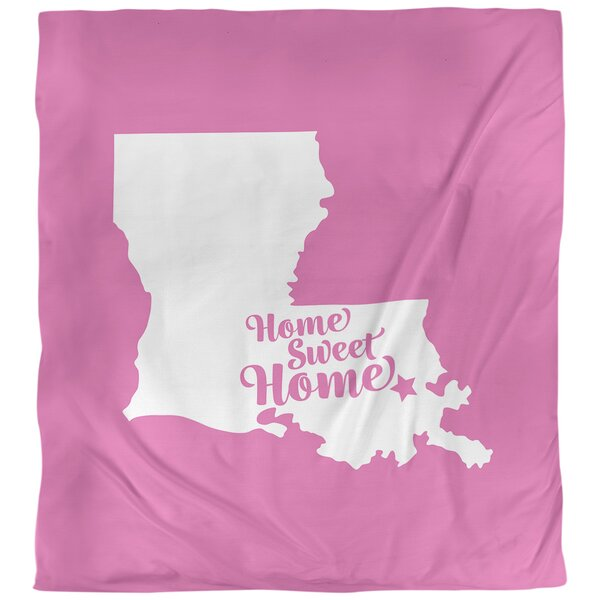 New Orleans Home Sweet Single Duvet Cover