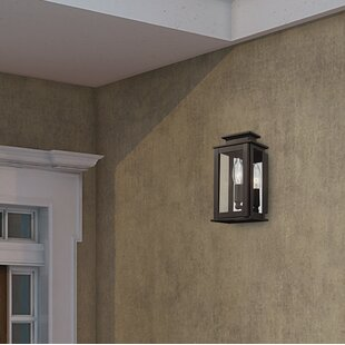 Where buy  Farmingdale 1-Light Solid Brass Outdoor Flush Mount By Gracie Oaks