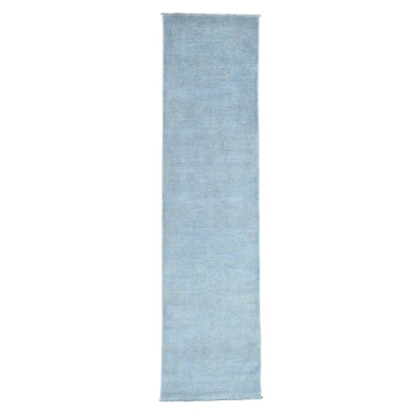 One-of-a-Kind Zuzanna Hand-Knotted Blue Area Rug by Bungalow Rose