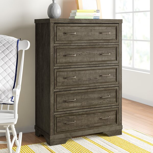 New Ashford 5 Drawer Chest by Three Posts Baby & Kids