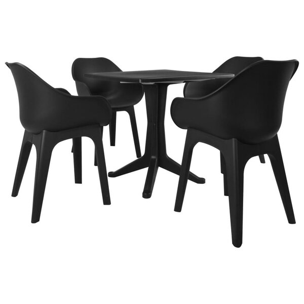 Alicja 5 Piece Dining Set by Latitude Run