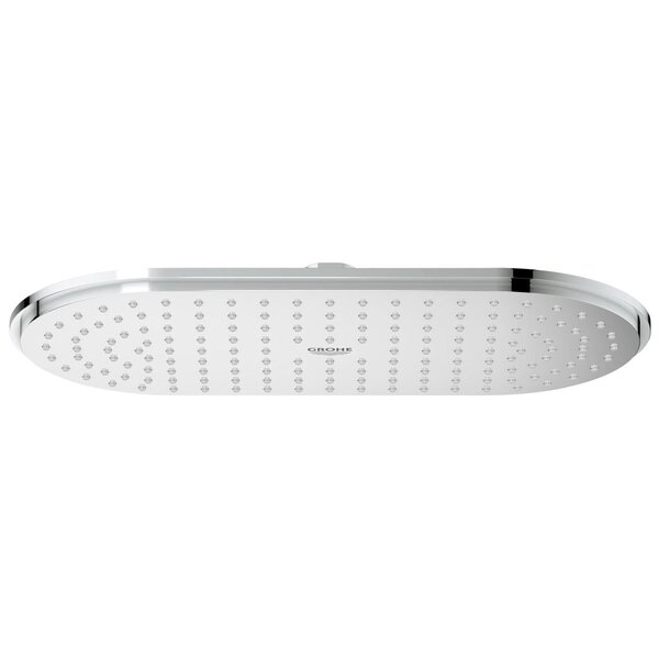 Veris Rain Adjustable Shower Head SpeedClean Nozzles by GROHE GROHE