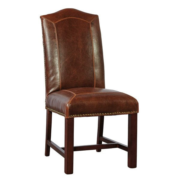 Blake Genuine Leather Upholstered Dining Chair (Set of 2) by Furniture Classics