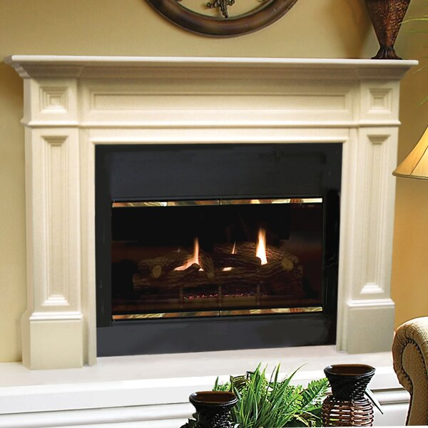 The Classique Fireplace Mantel Surround by Pearl Mantels