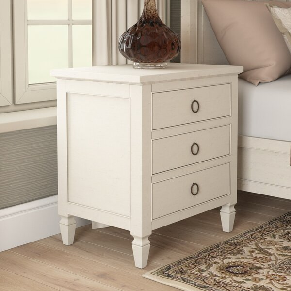 Payton 3 Drawer Nightstand by Canora Grey