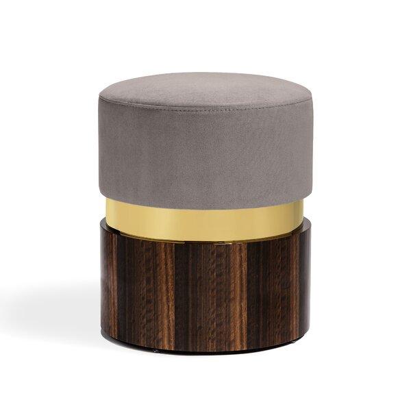 Kelsey Solid Wood Vanity Stool