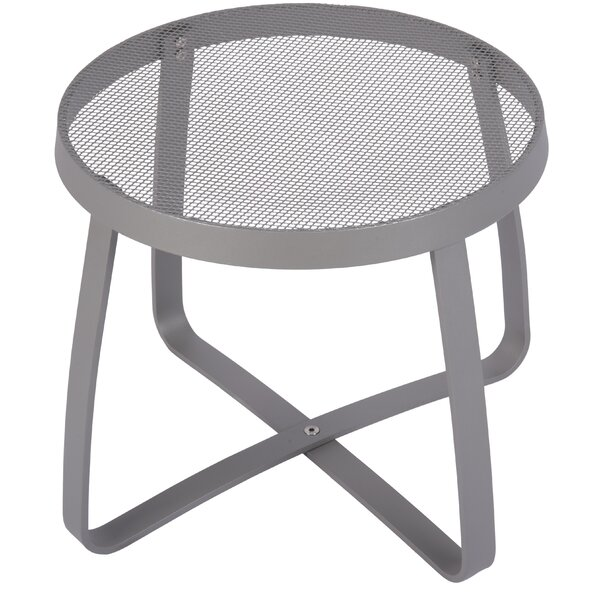 Maze Metal Side Table by BFM Seating