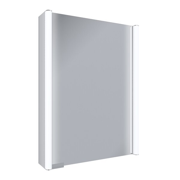 Ella 21 x 27.75 Surface Mount Medicine Cabinet with LED Lighting