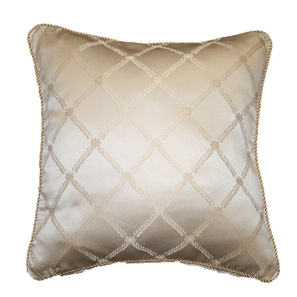 Bedford Crescent Design Decorative Pillow Cover by Astoria Grand