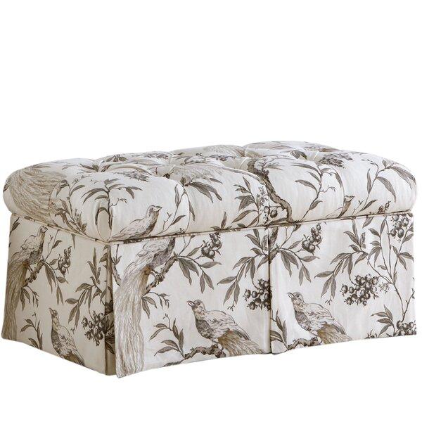 Roberta Upholstered Storage Bench by Skyline Furniture