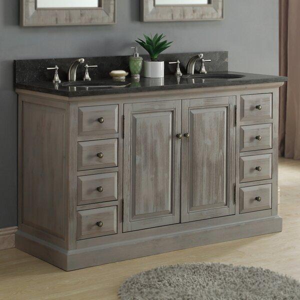 61 Double Bathroom Vanity Set