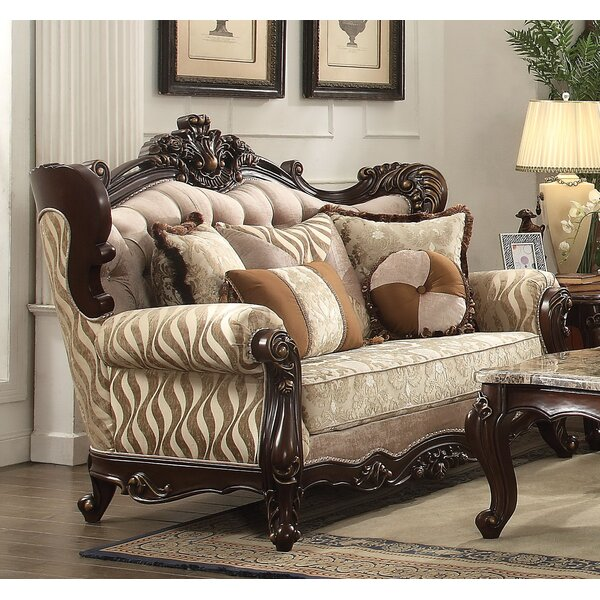 Leon Standard Loveseat by Astoria Grand