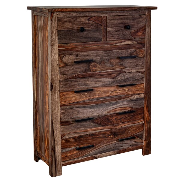 Marissa Sheesham Wood 6 Drawer Chest by Loon Peak