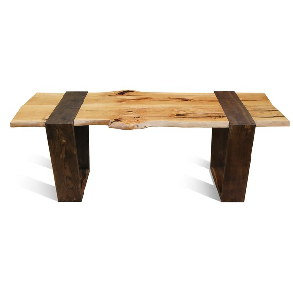 Leandro Solid Wood Dining Table by Loon Peak