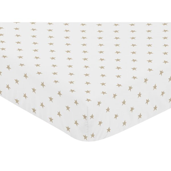Celestial Fitted Crib Sheet by Sweet Jojo Designs