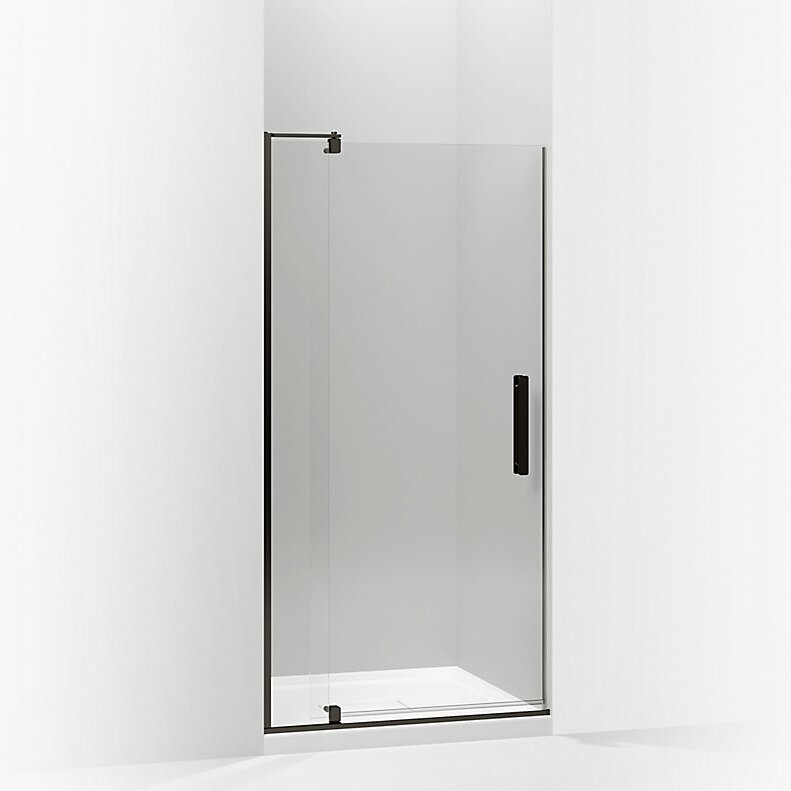 K-707536-L-ABZ,BNK,SHP Kohler Revel 40\'\' x 74\'\' Pivot Shower Door ...