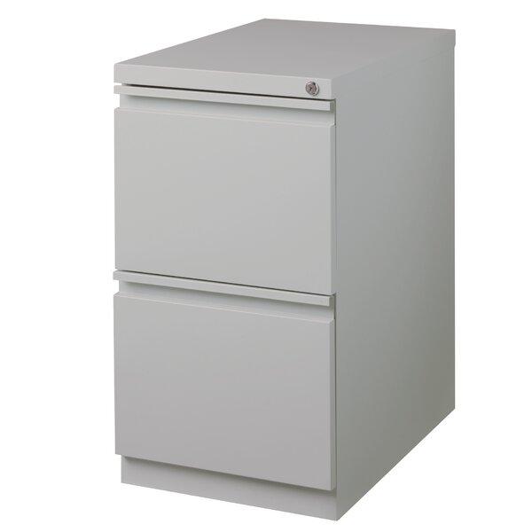 2 Drawer Mobile Vertical Filing Cabinet by Rebrilliant