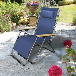 Oversized Reclining Zero Gravity Chair With Cushion