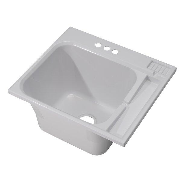 25 x 22 Drop-In Laundry Sink by Cashel
